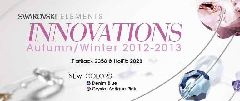 New colors from Swarovski Elements A/W 2012-2013