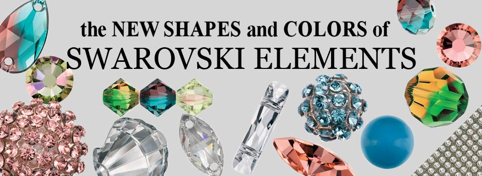 New colors from Swarovski Elements S/S 2012-2013