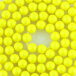 Crystal Neon Yellow Pearl