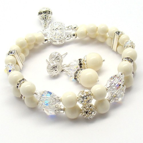 Crystal Ivory Pearl